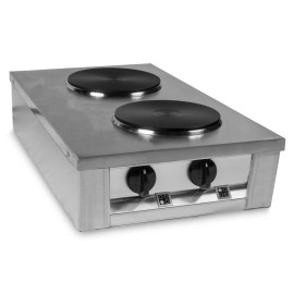 ANAFE ELECTRICO INOX304 2 DISCOS HOT PLATE