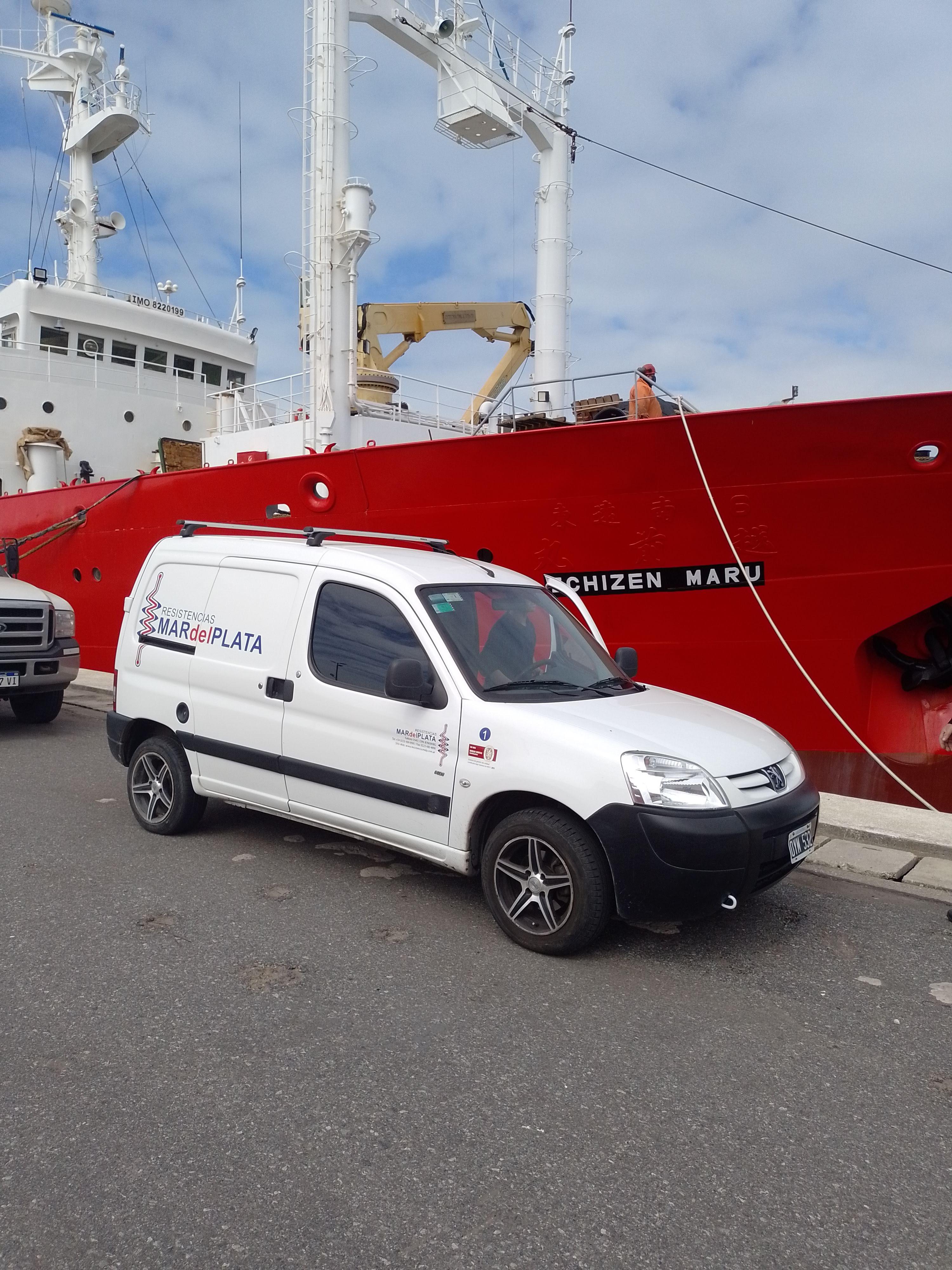 Instalación buque ECHIZEN MARU